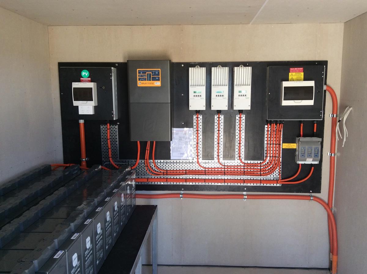 5kw Stand Alone Power Systems The Marra Nsw Ljw Solar